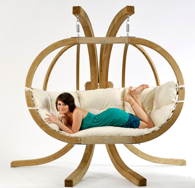 st nder f r globo royal chair h ngesessel bei. Black Bedroom Furniture Sets. Home Design Ideas