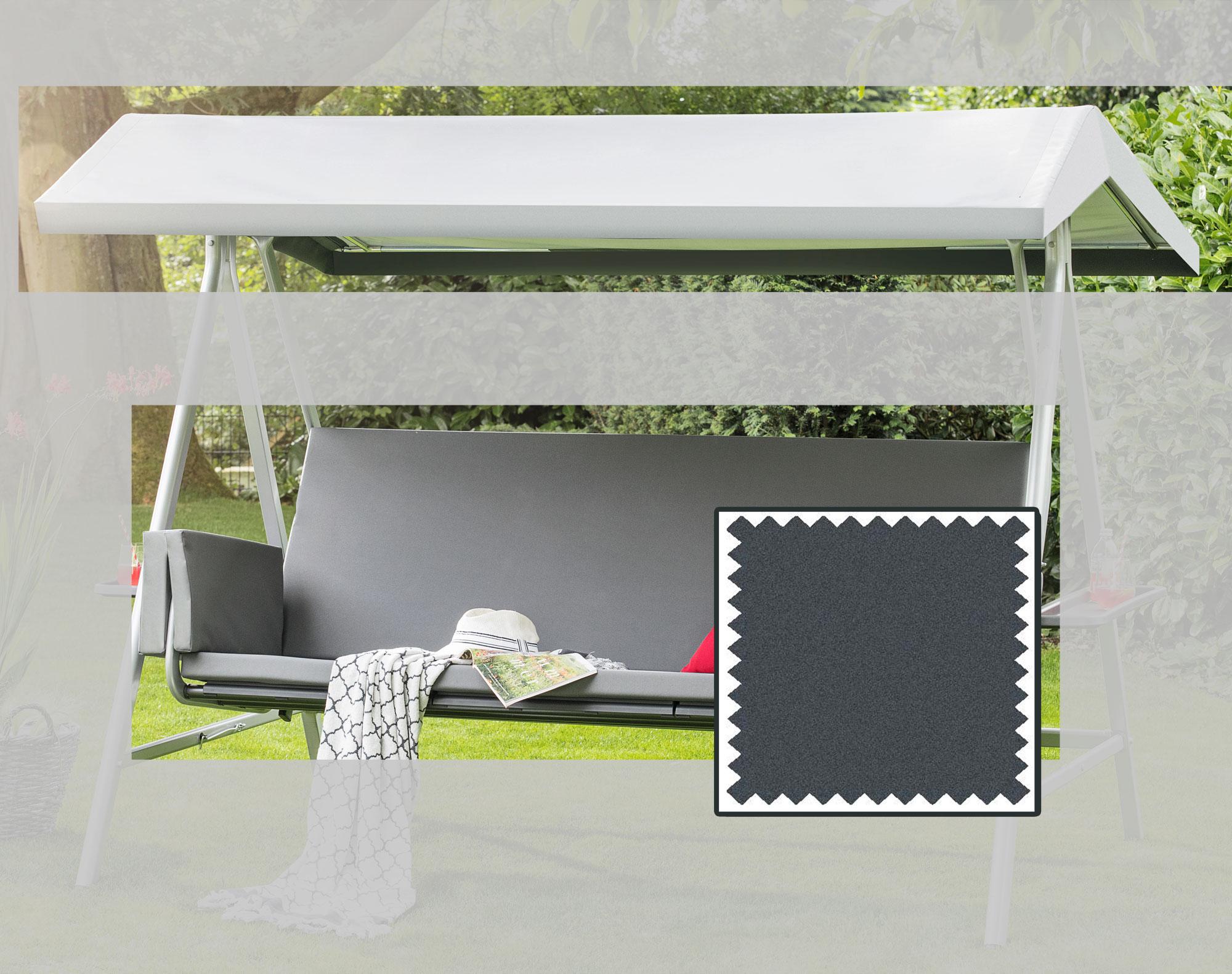 KETTLER Auflage+Dach wetterfest für Hollywoodschaukel 0312809-8877 Bild 1