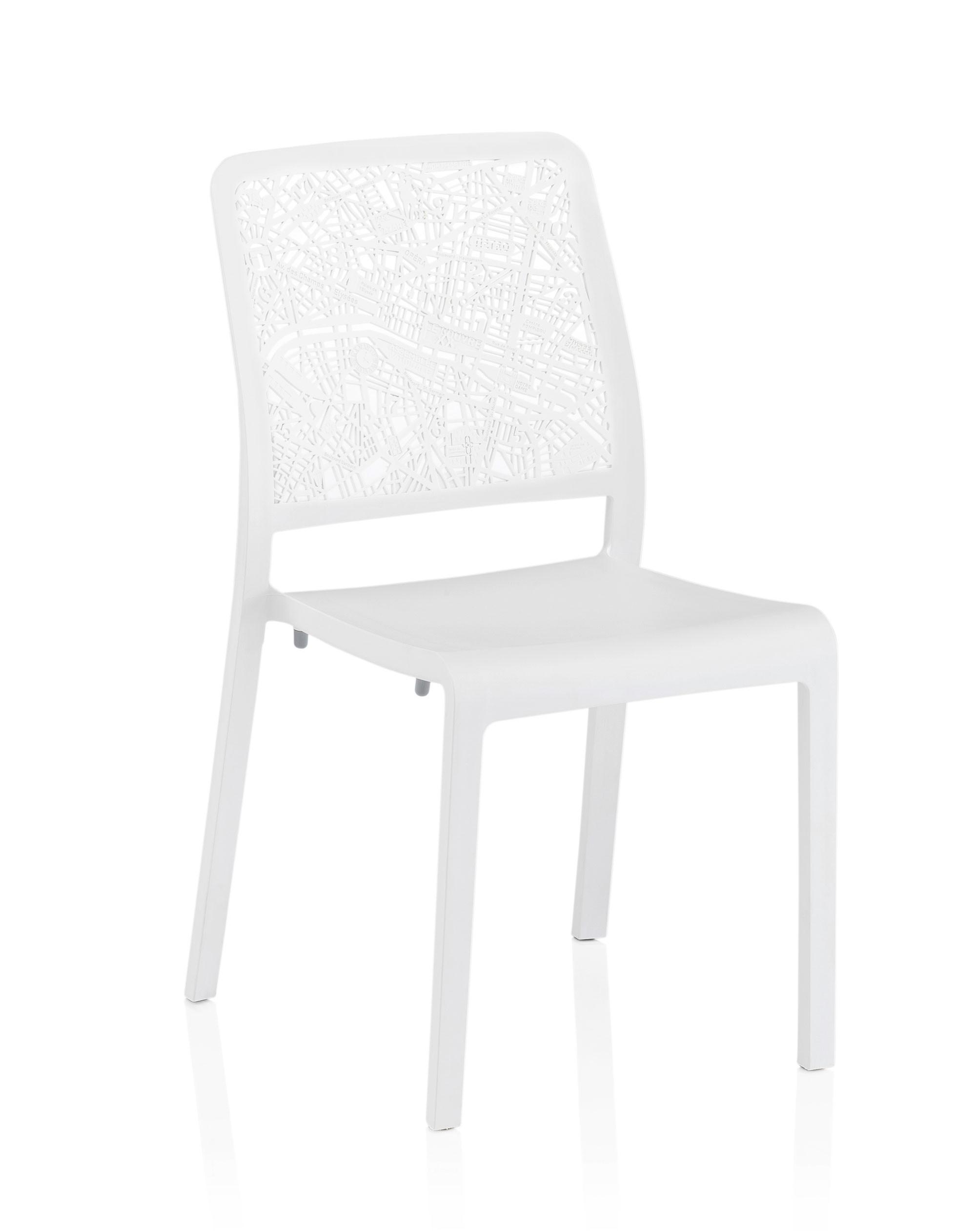KETTLER Gartenstuhl Seine 0313306-5000 stapelbar Kunststoff weiß ...