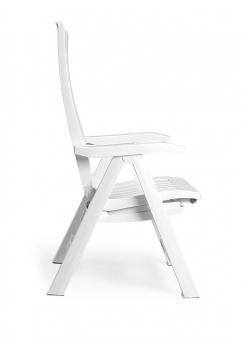 Gartenliege Deckchair Florida Best Kunststoff anthr. mit Auflage D1363 Bild 2