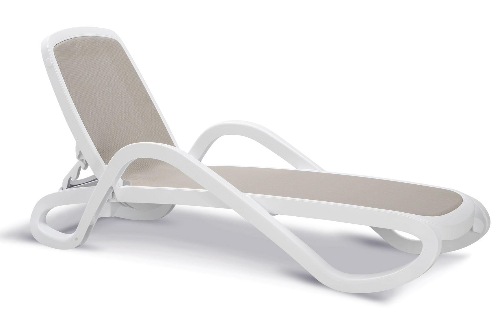 stapelliege b derliege relaxliege alfa wei grau bei. Black Bedroom Furniture Sets. Home Design Ideas