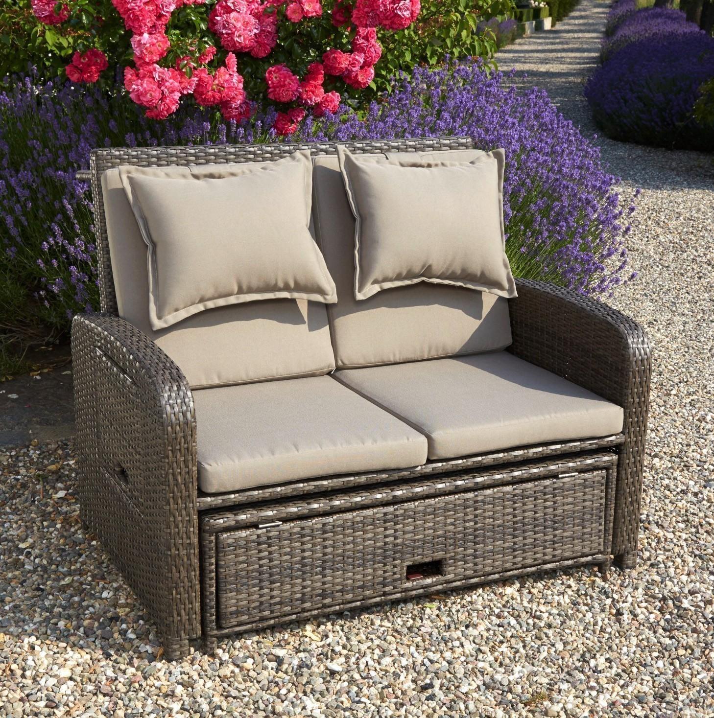 gartensofa lounge liege bahia rondo greenmotion. Black Bedroom Furniture Sets. Home Design Ideas