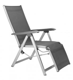 KETTLER Relaxliege Basic Plus 0301216-000 silber/anthrazit Alu Bild 1