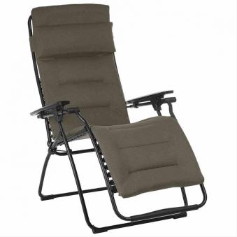 Lafuma Relaxliege Futura Air Comfort Stahl schwarz / taupe Bild 1
