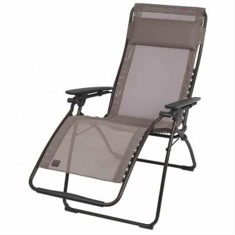 lafuma relaxsessel relaxliege futura batyline schwarz ecore bei. Black Bedroom Furniture Sets. Home Design Ideas