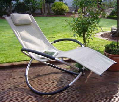 Gartenliege klappbar  Sonnenliege / Gartensessel klappbar natur - bei edingershops.de