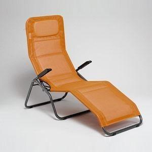 mfg saunaliege b derliege klappbar pool 2 anthrazit terracotta stahl bei. Black Bedroom Furniture Sets. Home Design Ideas