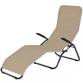 mfg saunaliege b derliege klappbar pool 2 anthrazit taupe bei. Black Bedroom Furniture Sets. Home Design Ideas