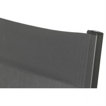 MWH Gartenliege / Klappliege Core Alu antharzit / grau Bild 2