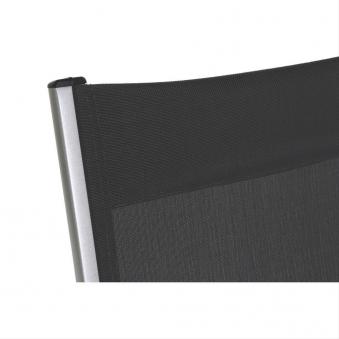 MWH Gartenliege / Klappliege Core Alu silber / grau Bild 2