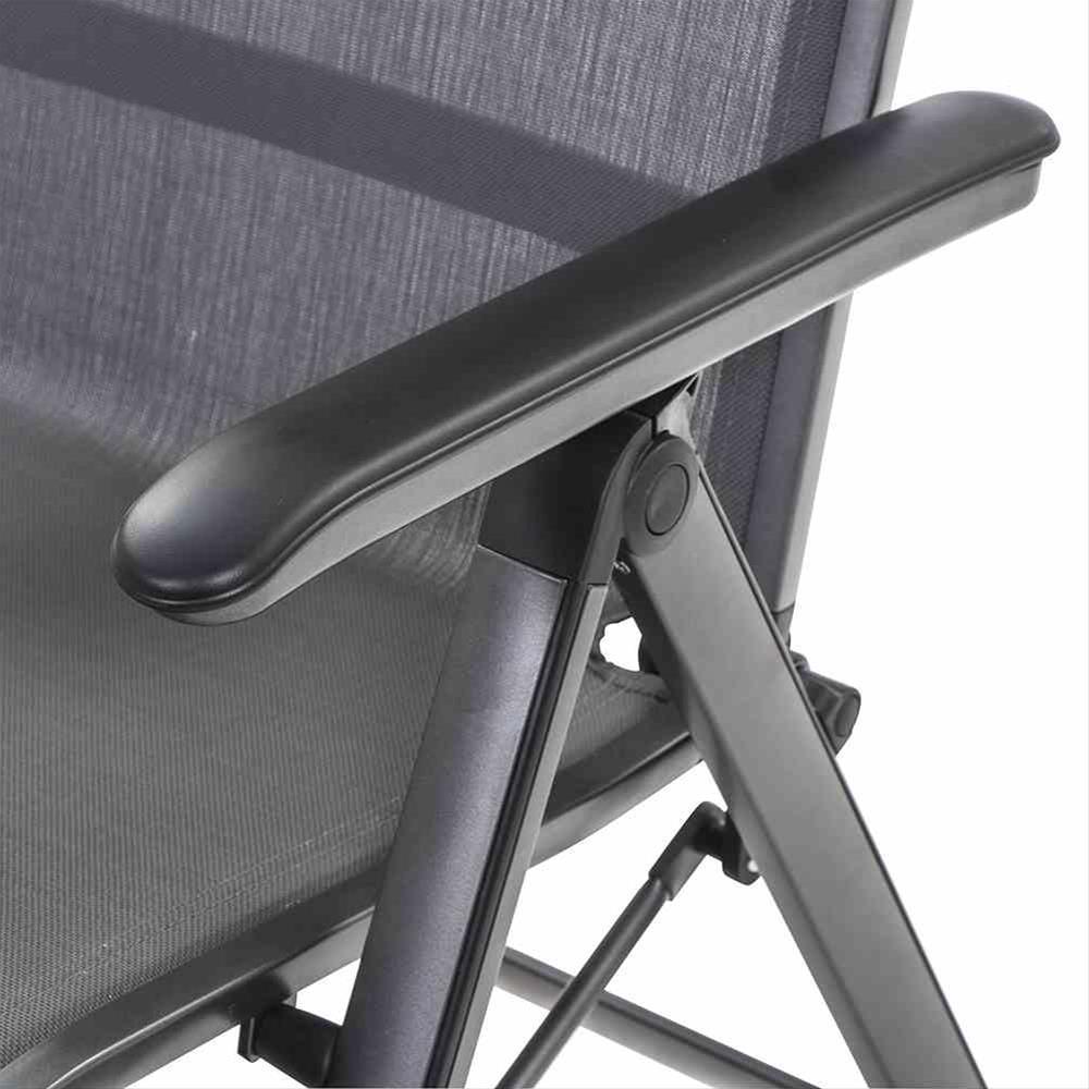 MWH Relaxliege / Relaxsessel Core Alu anthrazit / grau Bild 2
