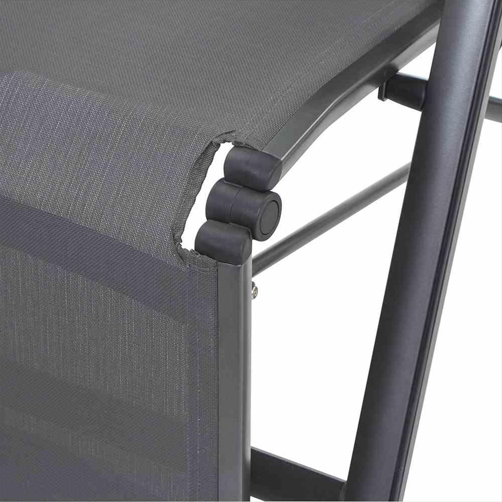 MWH Relaxliege / Relaxsessel Core Alu anthrazit / grau Bild 4