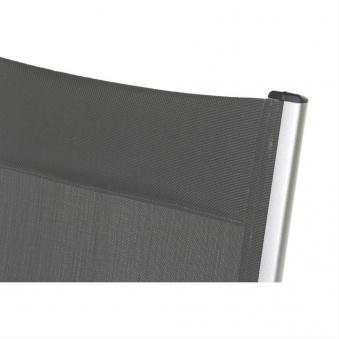 MWH Relaxliege / Relaxsessel Core Alu silber / schwarz Bild 2