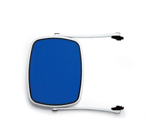 Nardi Sonnendach Parasole für Nardi Gartenliege weiß / blu Bild 1