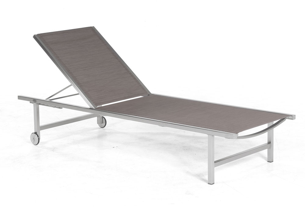sonnenpartner gartenliege galaxy edelstahl taupe bei. Black Bedroom Furniture Sets. Home Design Ideas
