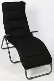 Sungörl Polster / Auflage für Gartenmöbel Multi-Liegenauflage 3D Black