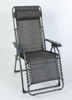 Sungörl Relaxsessel / Relaxliege Oasi Magic XL Suntex anthrazit Bild 1