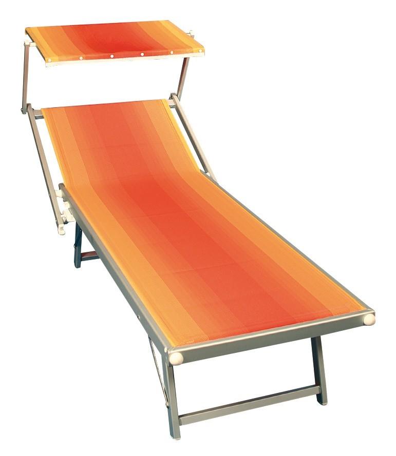 sung rl sonnenliege amalfi mit sonnendach alu terra bei. Black Bedroom Furniture Sets. Home Design Ideas