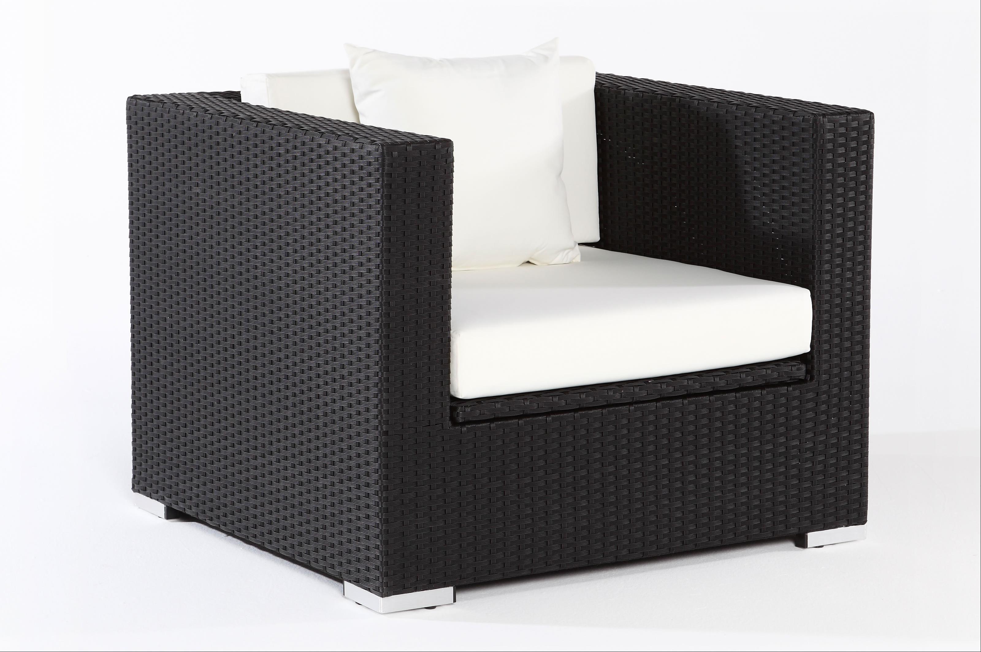 Outflexx Polyrattan Modul Sessel w1 schwarz 2392-7 - bei ...
