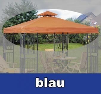 dach f r pavillon turin 300x300cm blau bei. Black Bedroom Furniture Sets. Home Design Ideas