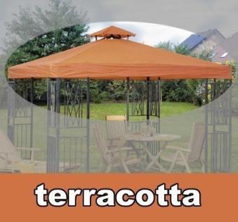 dach f r pavillon turin 300x300cm terracotta bei. Black Bedroom Furniture Sets. Home Design Ideas
