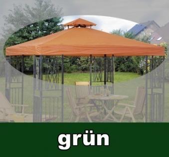 Ersatz Dach für Siena Garden Pavillon Turin 300x300cm grün Bild 1
