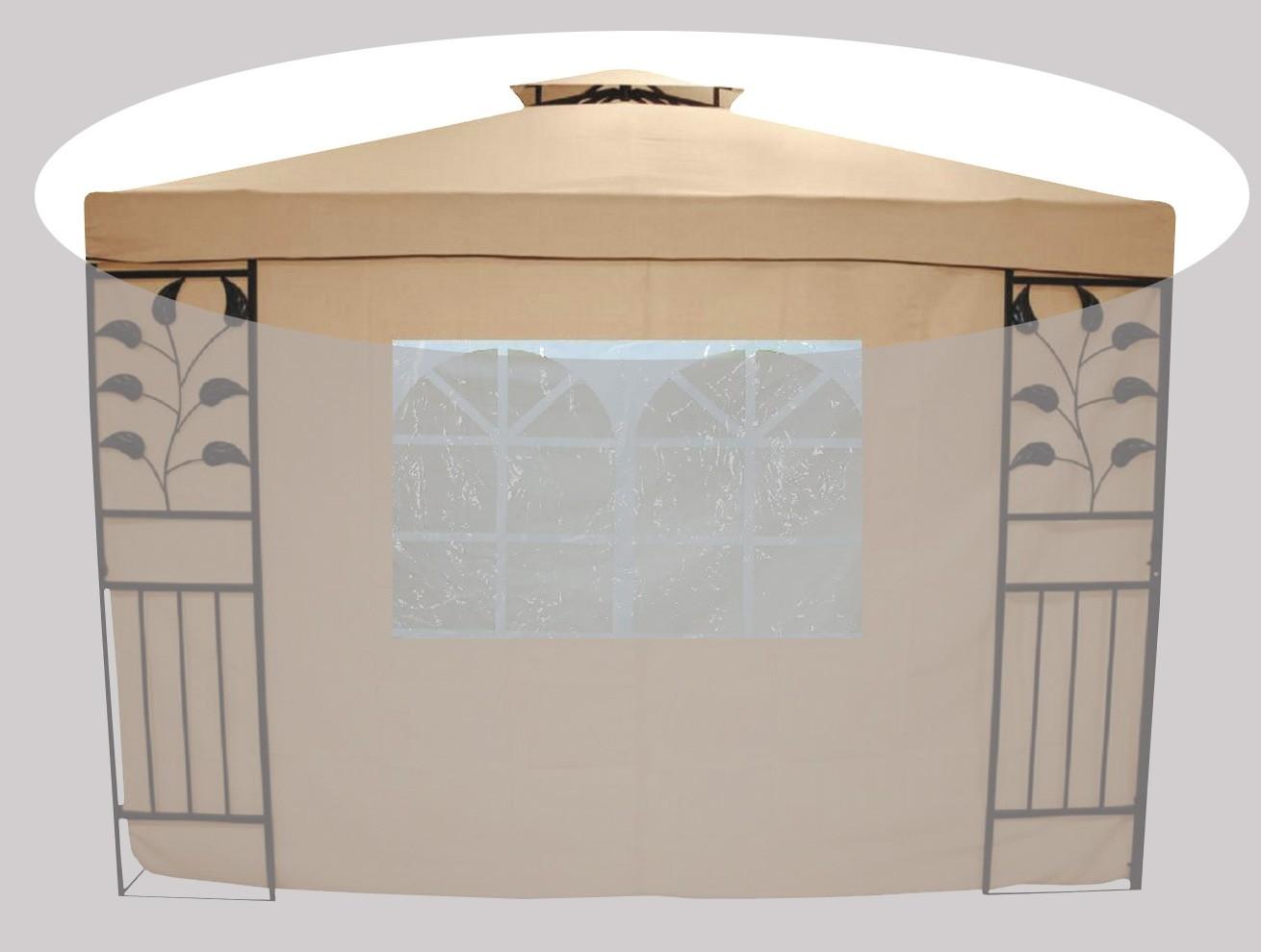 Ersatz - Dachbezug für Pavillon Livorno beige Bild 1