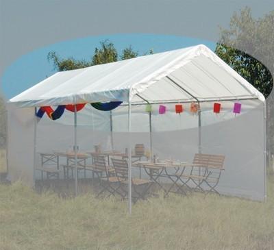 Ersatzdach Siena Garden Pavillon 300x600cm weiß Bild 1