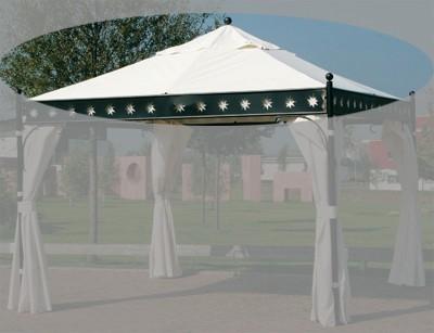 Ersatzdach Siena Garden Pavillon Korfu natur Bild 1