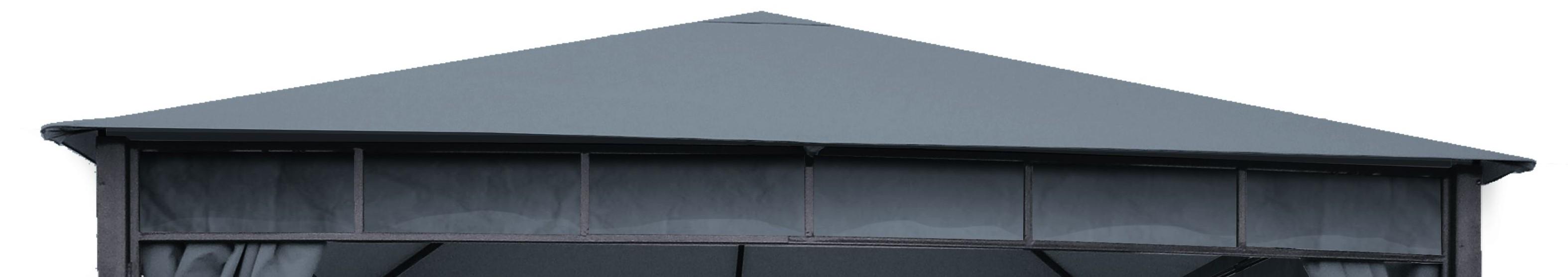 Ersatzdach zu Pavillon Modern Bellavista anthrazit Bild 1