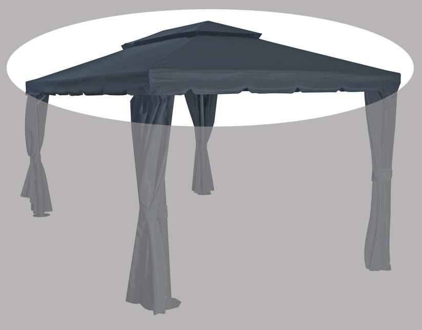 Ersatzdach zu Siena Garden Pavillon  Dubai grau 400x300cm Bild 1
