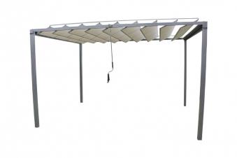 leco pavillon sonnenschutz markise lamellenpergola. Black Bedroom Furniture Sets. Home Design Ideas