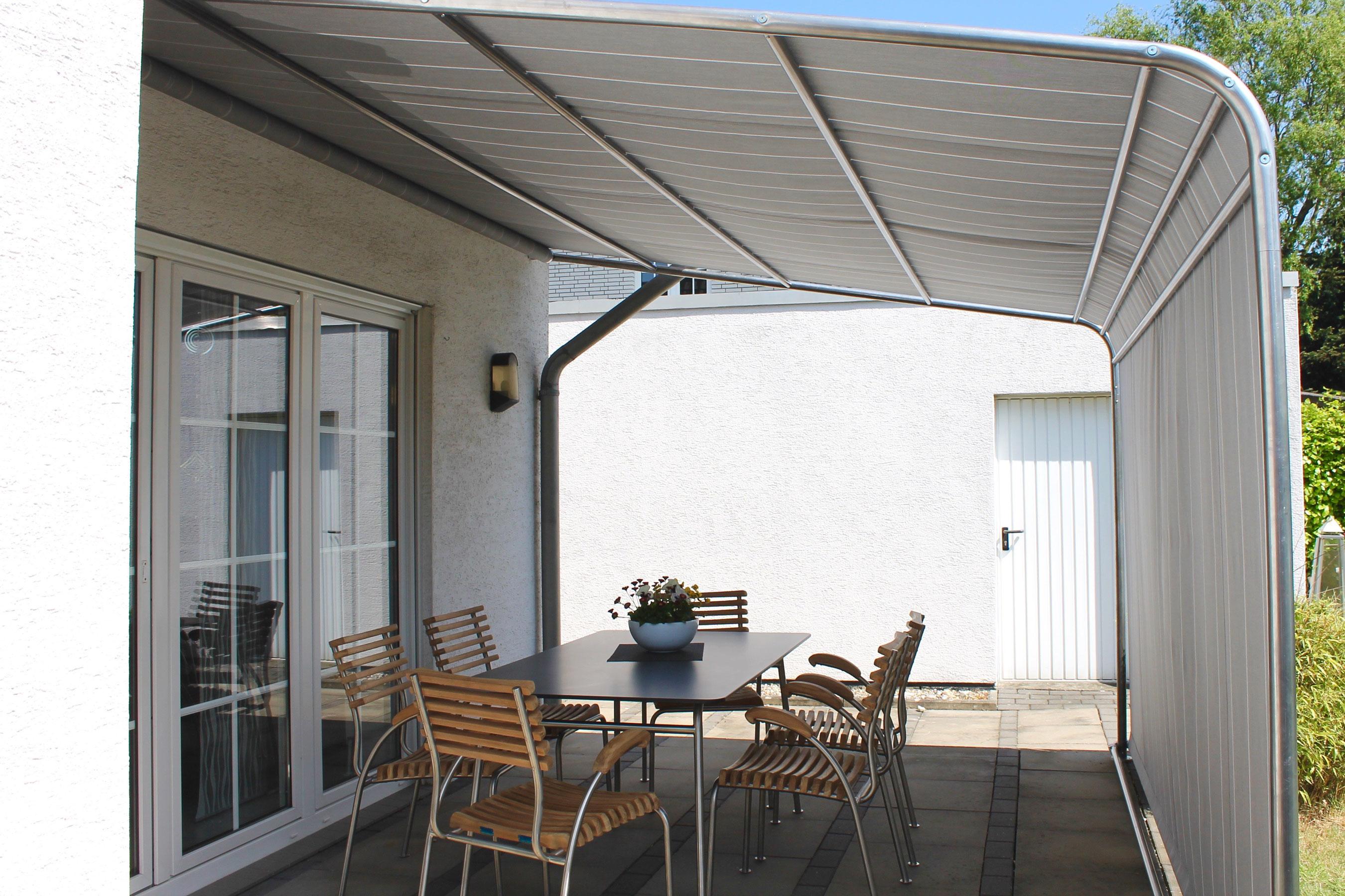 Sonnenschutz Terrassenuberdachung Gunstig ~ Leco sonnenschutz terrassenüberdachung komfort anthrazit 300x400cm