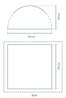 Pavillon / Gartenpavillon Coleman Event Shelter Pro XL 450x450cm Bild 2