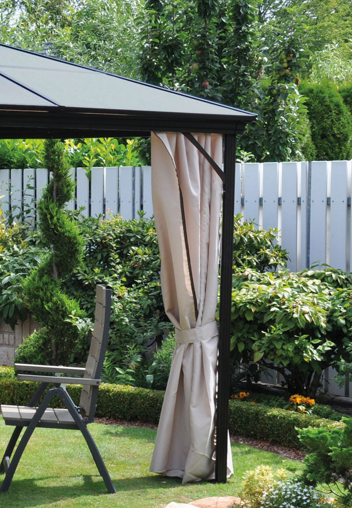 pavillon gartenpavillon leco profi pavillon300x365cm. Black Bedroom Furniture Sets. Home Design Ideas