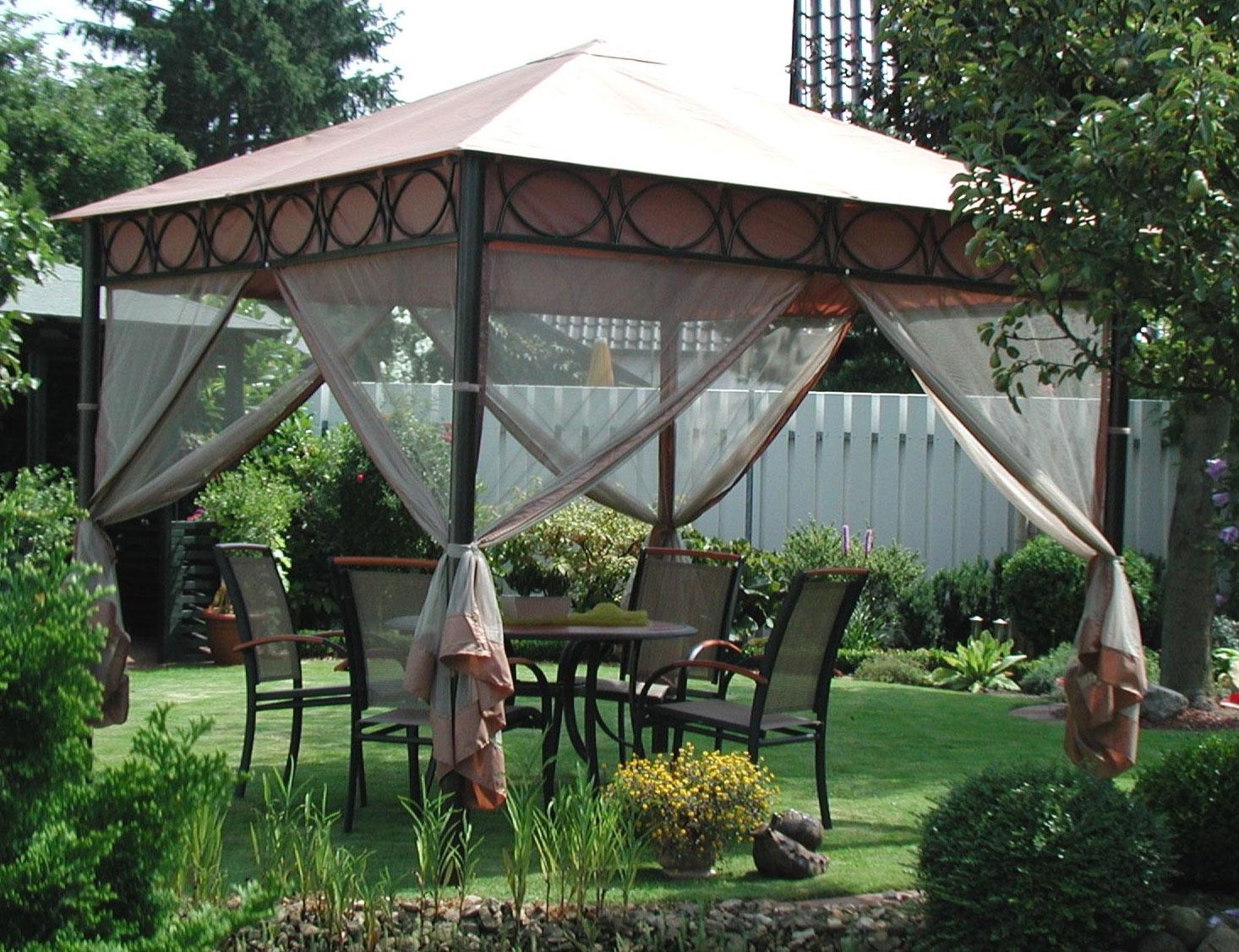 pavillon gartenpavillon safari 300x300cm altkupfer. Black Bedroom Furniture Sets. Home Design Ideas