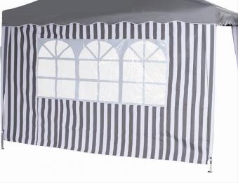 Seitenteile für Siena Garden Faltpavillon 3x3m grau-weiß