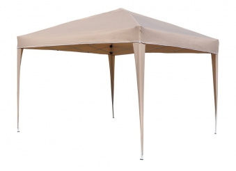 pavillon gartenpavillon faltbar 300x300cm beige bei. Black Bedroom Furniture Sets. Home Design Ideas