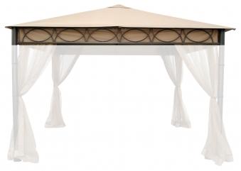 Ersatzdach für Luxus-Metallpavillon Bellavista 3,5x3,5m