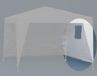 Seitenteil Siena Garden Pavillon Sahara mit Fenster weiß 1 Stück Bild 1