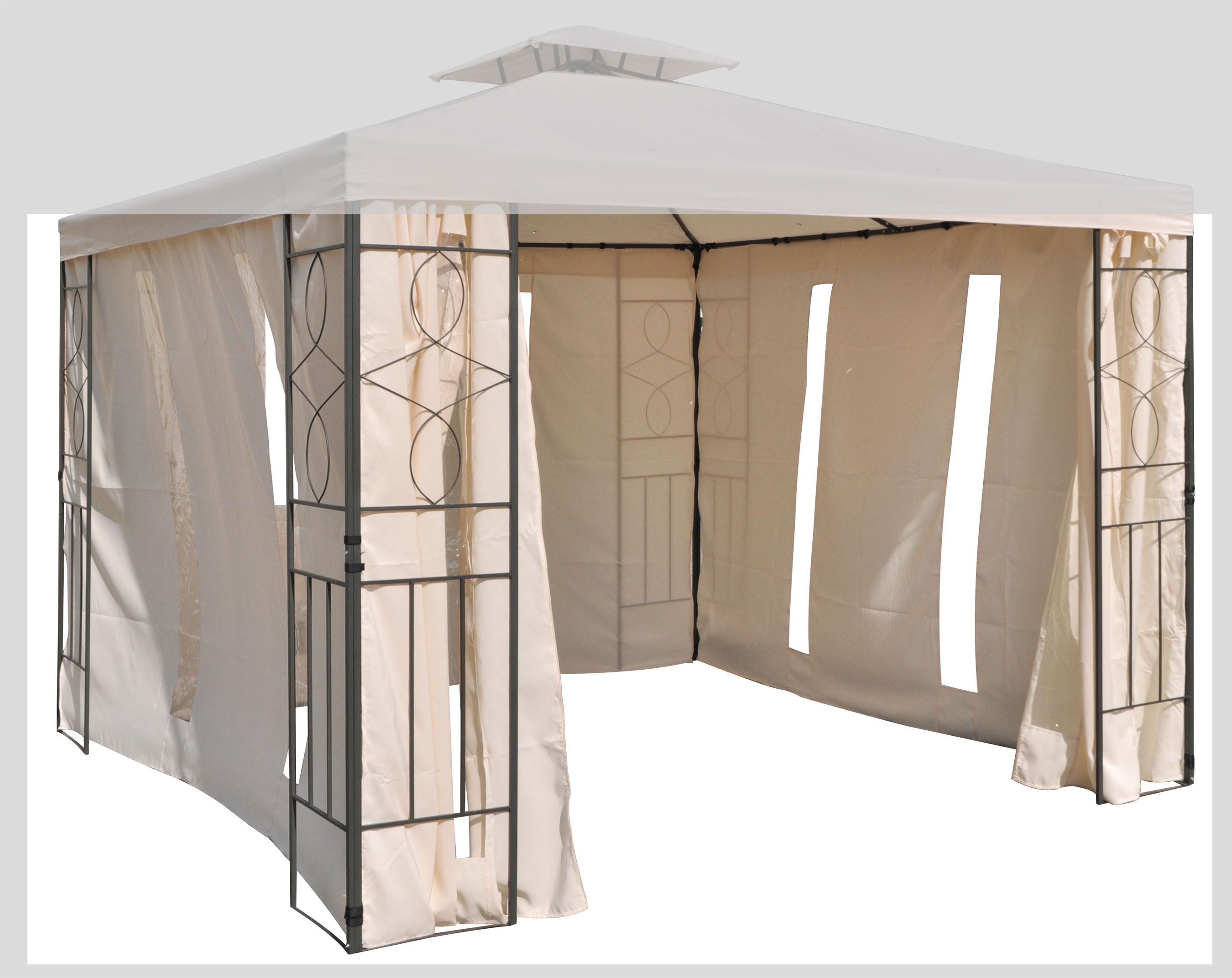 seitenteile set mit fenster zu pavillon 62298 bei. Black Bedroom Furniture Sets. Home Design Ideas