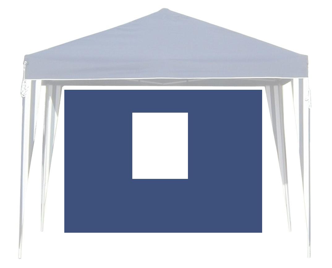 Seitenteile für Faltpavillon Bellavista 3x3m blau mit Fenster Bild 1