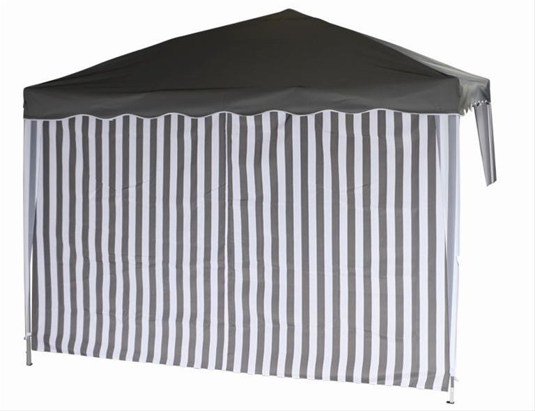 Seitenteile für Siena Garden Faltpavillon 3x3m grau-weiß Bild 2
