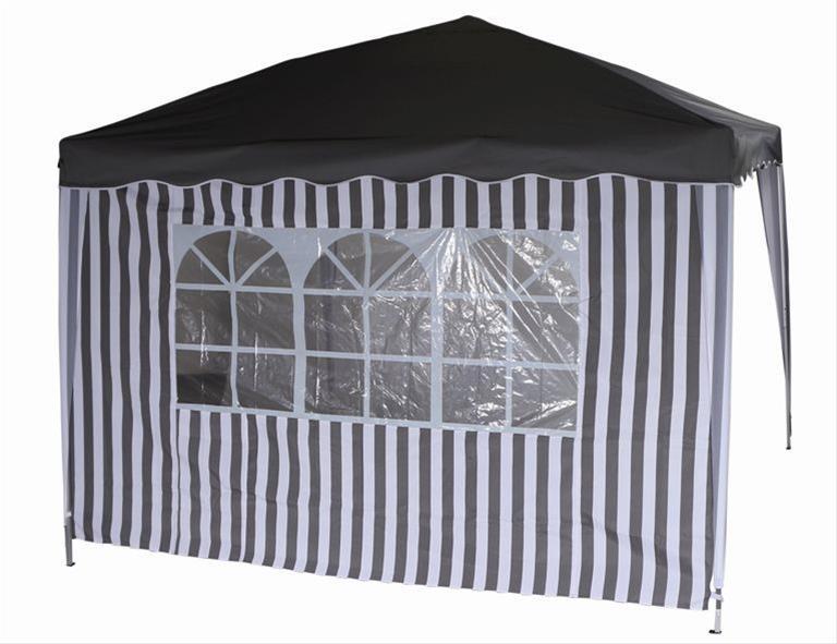Seitenteile für Siena Garden Faltpavillon 3x3m grau-weiß Bild 3