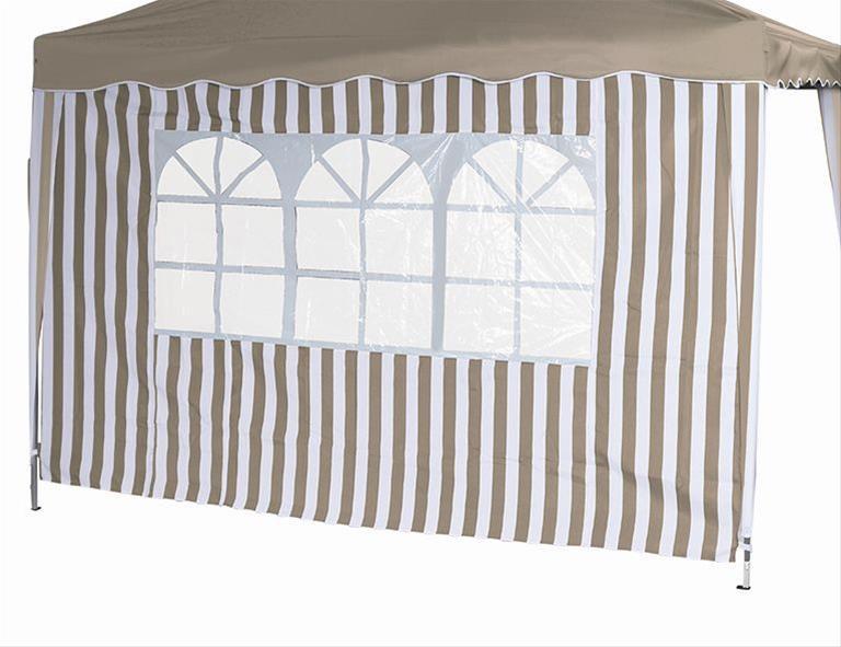 Seitenteile für Siena Garden Faltpavillon 3x3m taupe-weiß Bild 1