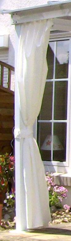 seitenteile f r leco terrassen berdachung wei 4 teilig bei. Black Bedroom Furniture Sets. Home Design Ideas