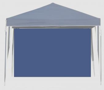 Seitenteile für Faltpavillon Bellavista 3x3m blau ohne Fenster
