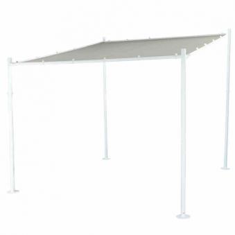 siena garden pavillon halbpavillon levino wei 285x285cm bei. Black Bedroom Furniture Sets. Home Design Ideas