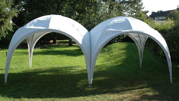 Verbindungsset vierfach für Pavillon Kuppelzelt Bellavista 3x3m Bild 3