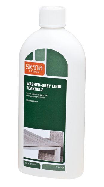 Siena Garden Washed-grey Look Teakholz für Gartenmöbel 500 ml Bild 1